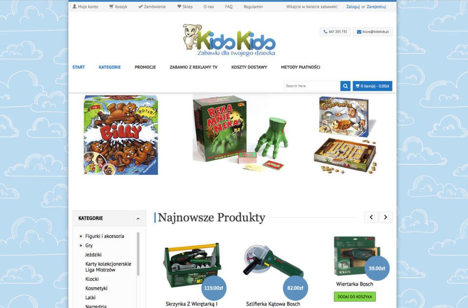 KidsKids.pl – sklep z zabawkami
