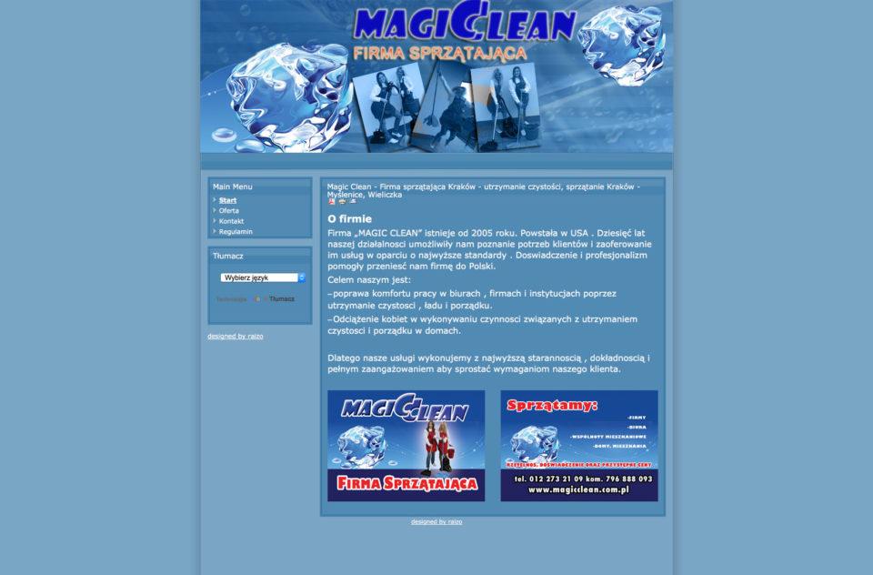 Magic Clean – Firma sprzątająca